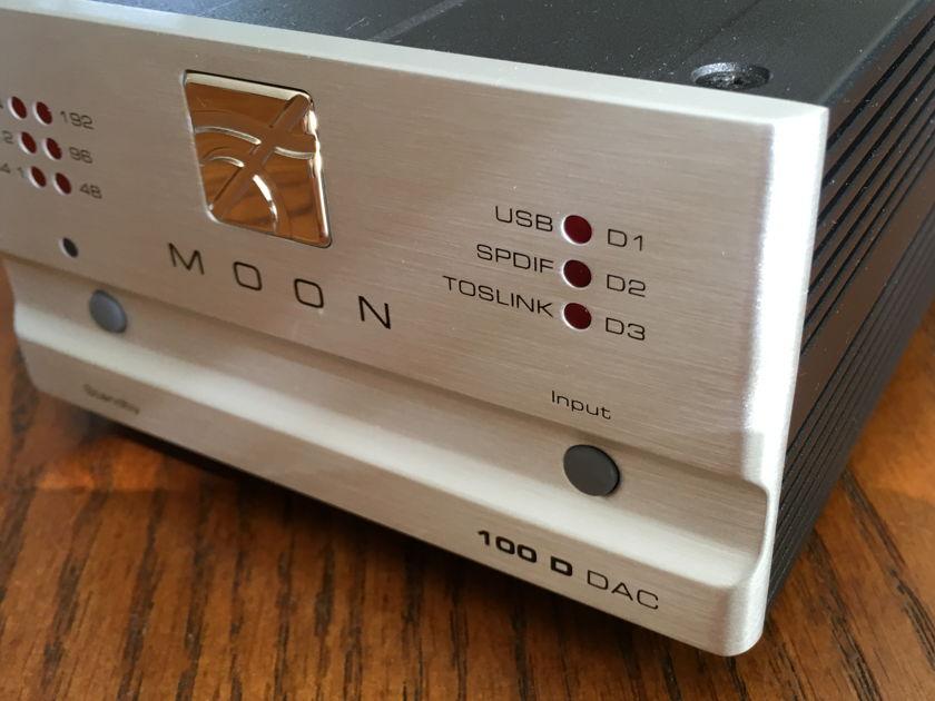 Simaudio Moon 100D  DAC, USB, SPDIF, Toslink