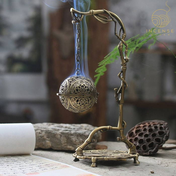 Chinese Hanging Backflow Incense Holder