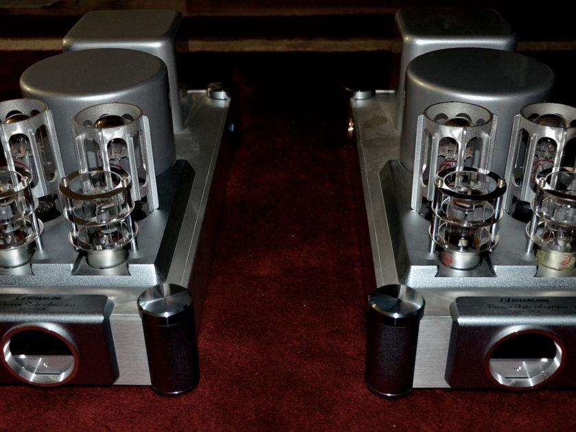 Shanling SP-80c Monoblocks w/extra Tubes
