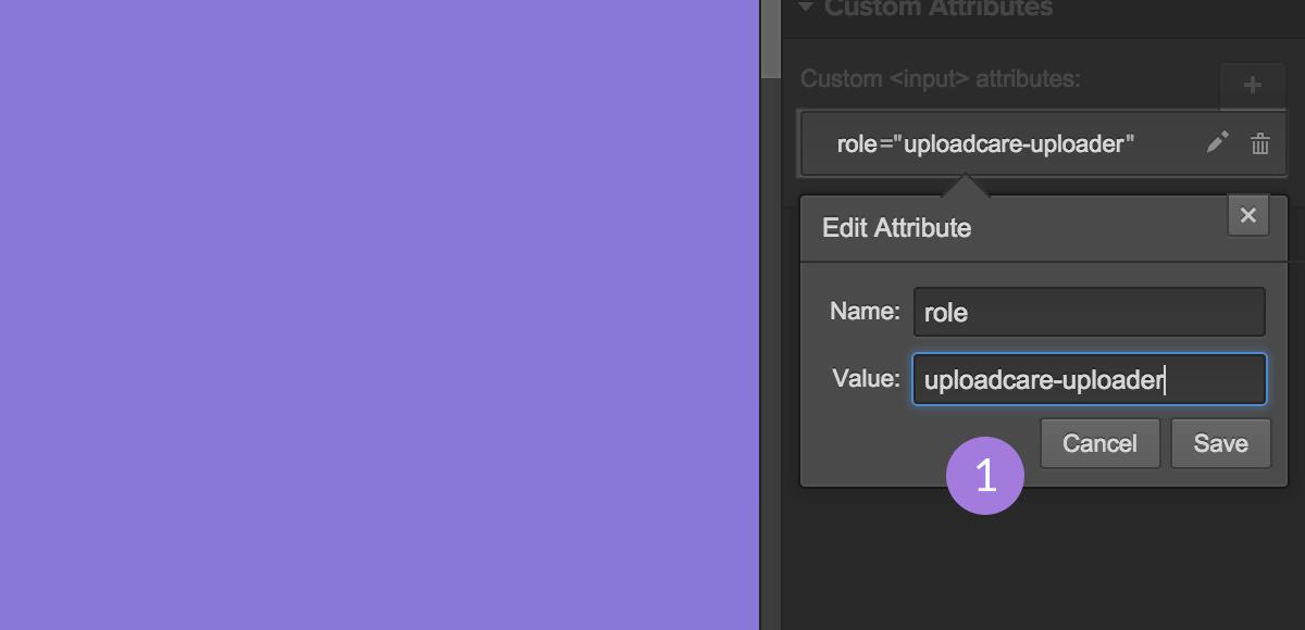 Step 7.1 - Add custom role attribute