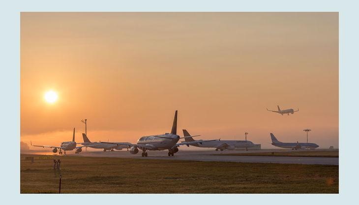 bester geburtstagde flughafen münchen impressionen landebahn flugzeuge