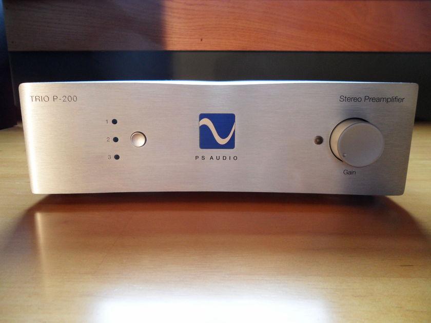 PS Audio Trio P200 Remote Control Preamp Orig. Remote, Box + Manual - FREE SHIPPING