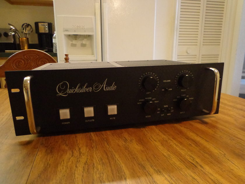 Quicksilver FULL FUNCTION TUBE PREAMPLIFIER W/PHONO