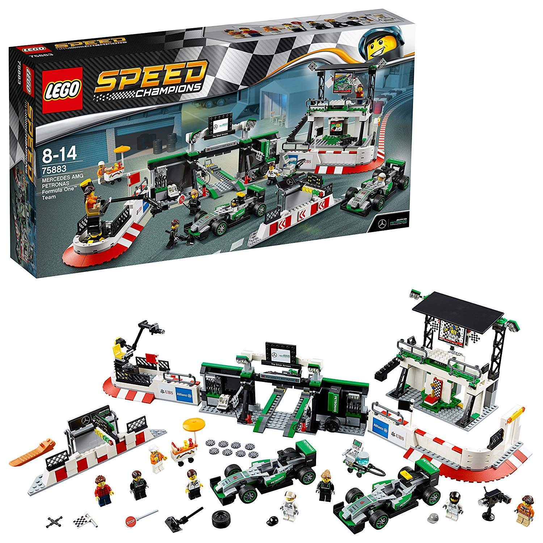 LEGO 75883: Mercedes AMG Petronas Formula One Team