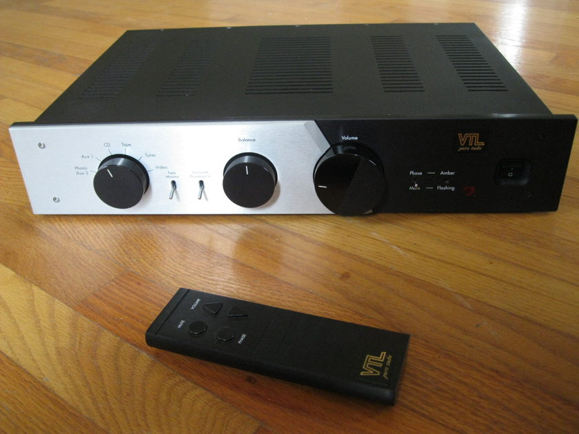 VTL TL5.5 (Rev 3) Preamp  with MM/MC Phono Stage