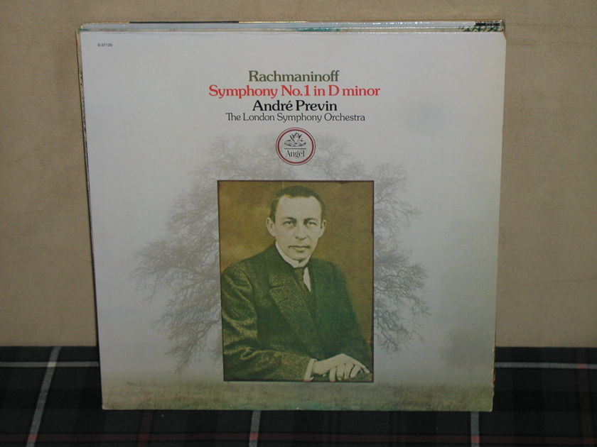 Andre Previn/LSO - Rachmaninoff Sym No 1 TAS Angel S 37120