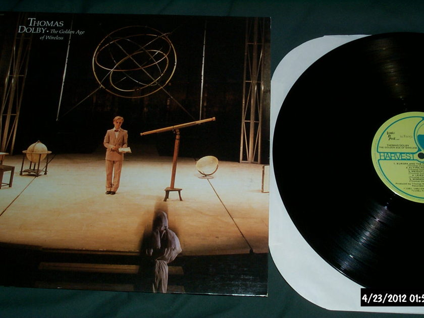 Thomas Dolby - The Golden Age Of wireless rare usa cover lp nm