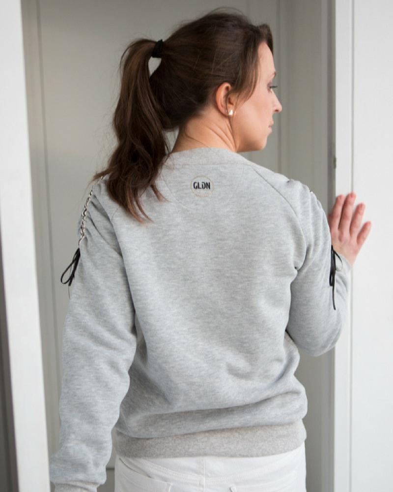 Sportieve trui in sweater kwaliteit