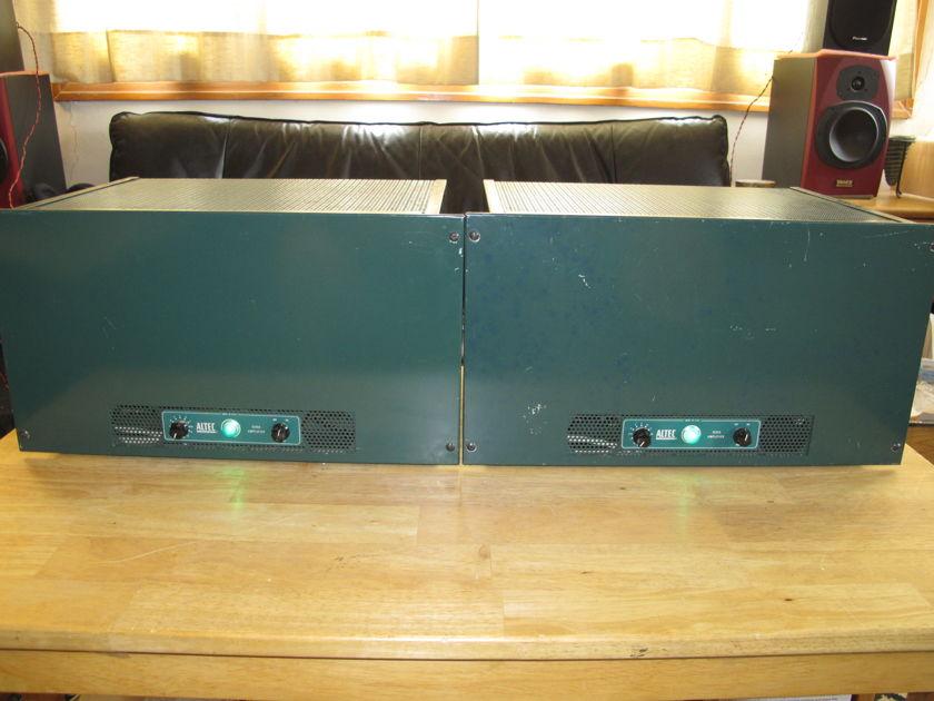 Altec 1570B Tube Power Amps