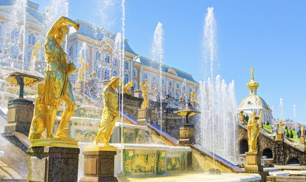 Экскурсия в Петергоф на метеоре с посещением Большого дворца