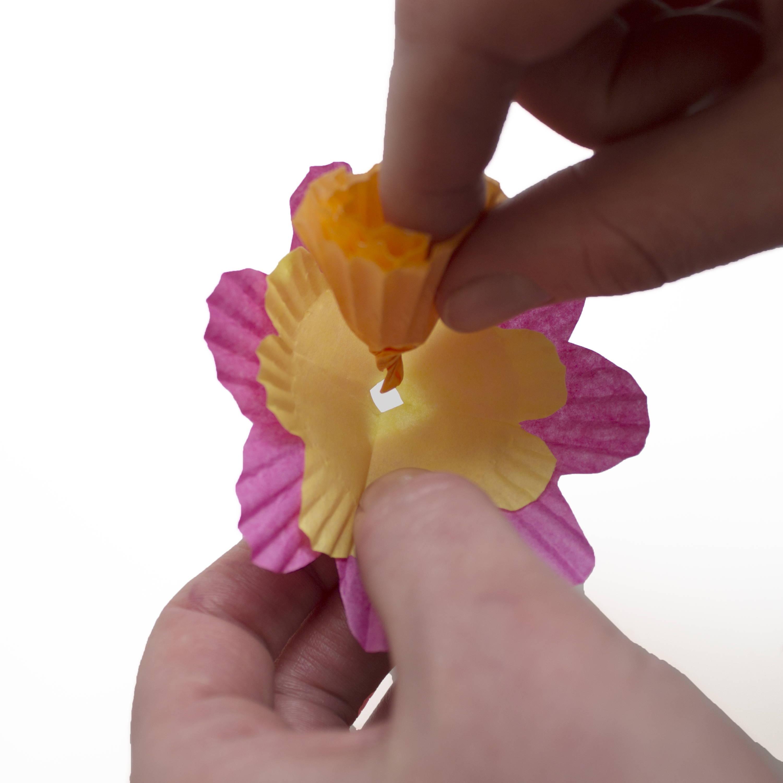 Kids flower craft