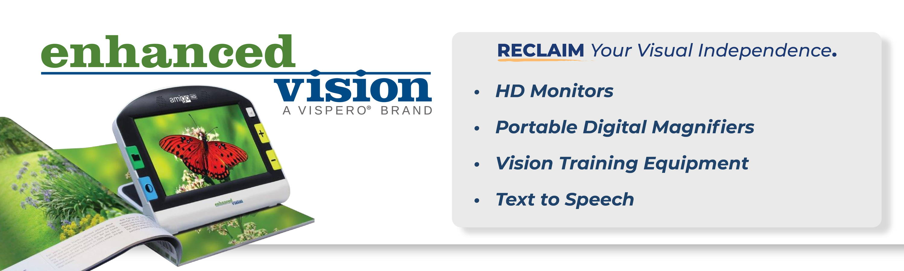 Enhanced Vision Brand Low Vision Solutions