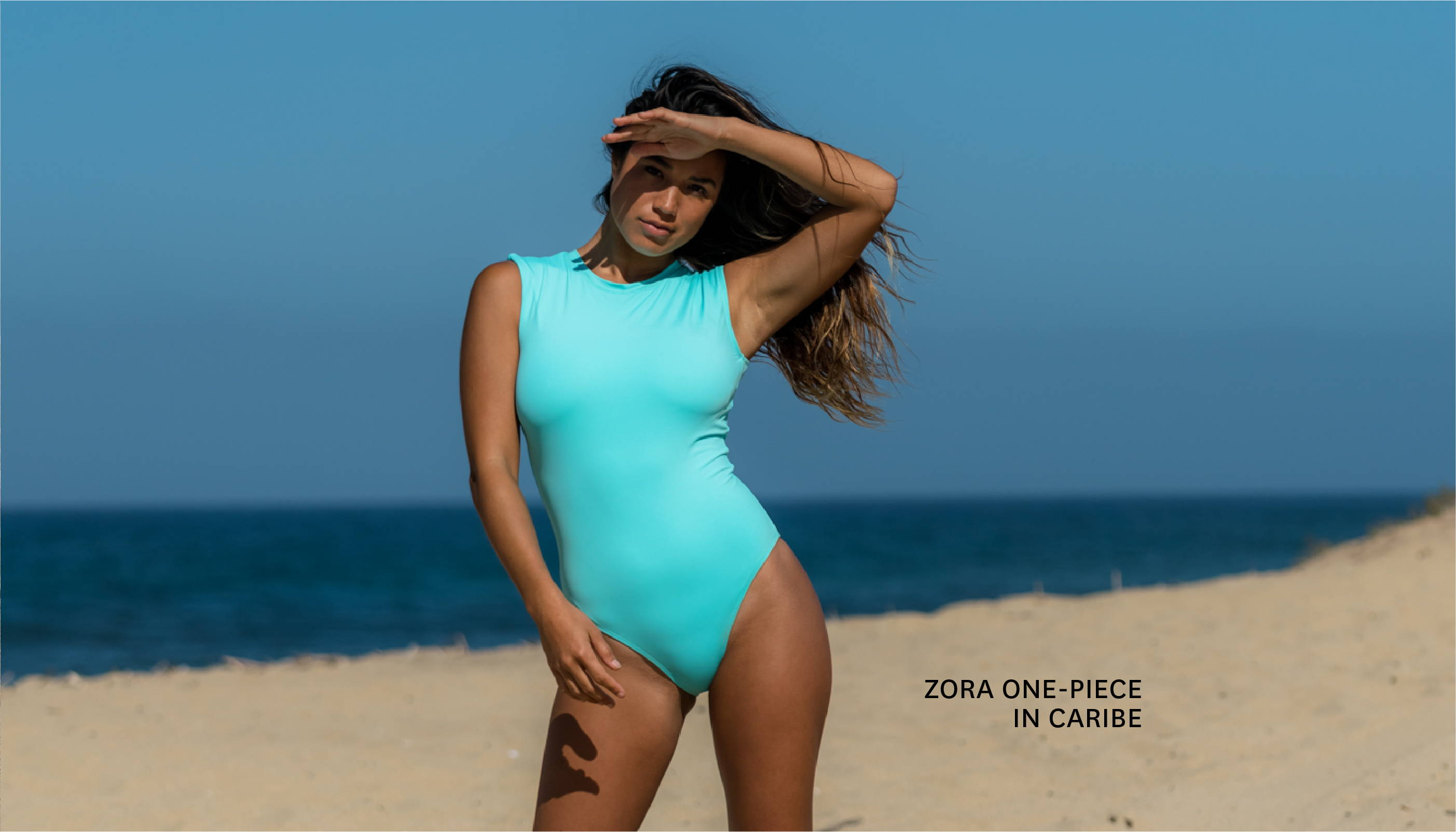 Get the ZORA ONE-PIECE in CARIBE!