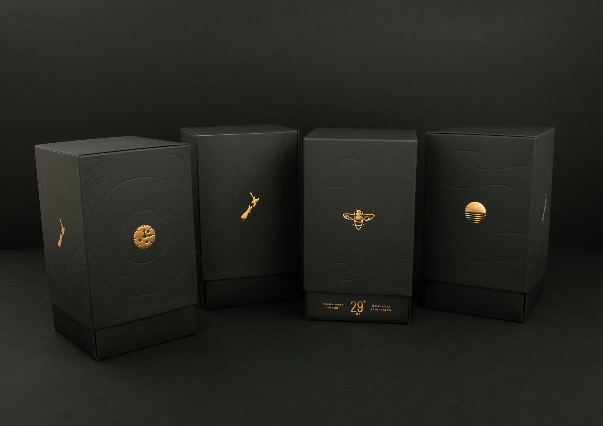 Agency Society Designs Luxe Packaging Worthy Of A Very Rare Honey