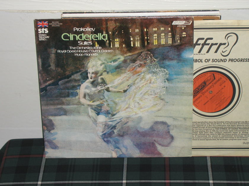 Rignold/ROHO Covent - Prokofiev Cinderella London STS UK/Decca