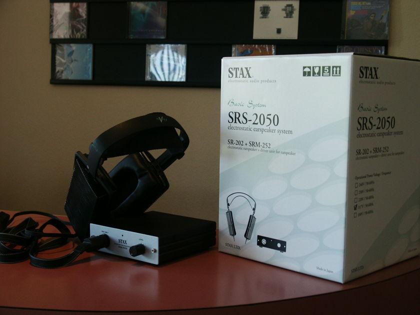 Stax  SR-202 + SRM252 headphone system