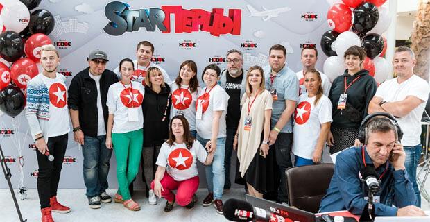 «STARПерцы» провели прямой эфир из Красноярска - Новости радио OnAir.ru