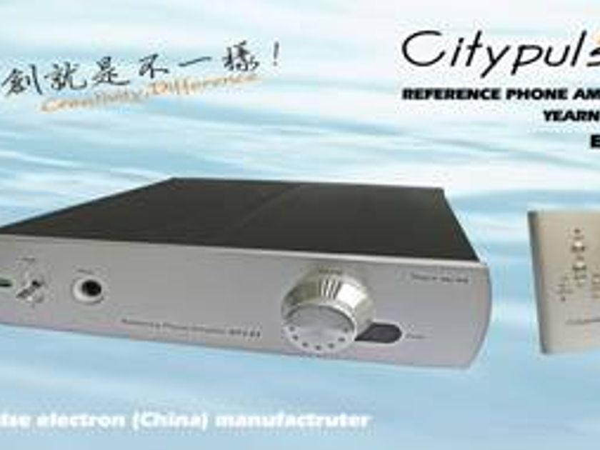 City Pulse EF-3.01 HEADHONE AMP / PRE-AMP