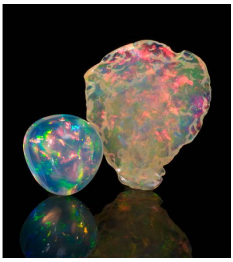 Opal color yves lemay jewelry