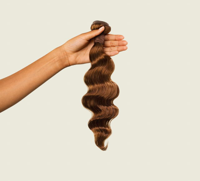 Loose Wave #4 Caramel Brown Bundles Mayvenn