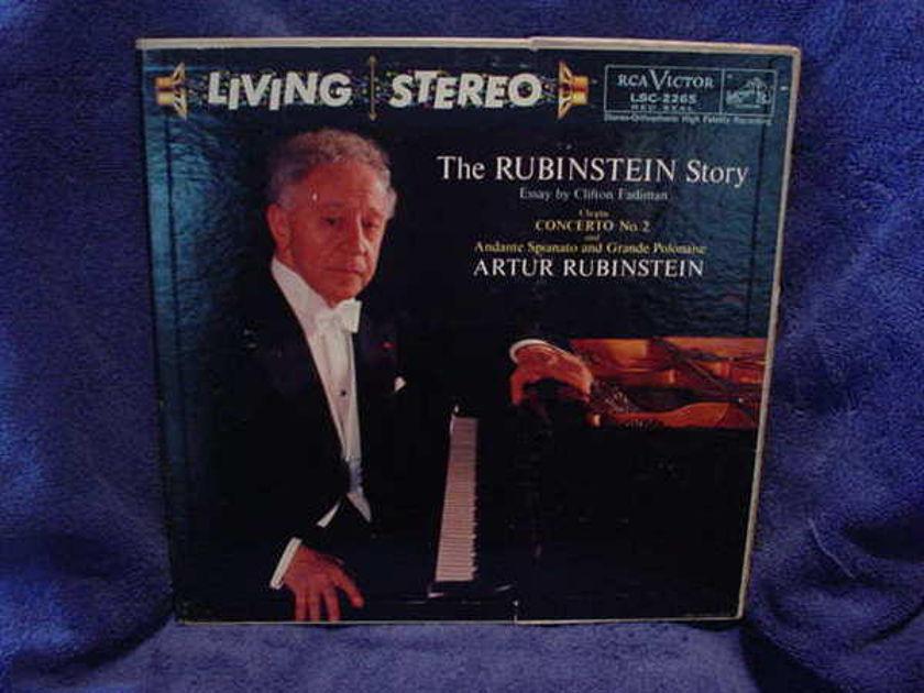 Artur Rubinstein - The Rubinstein Stor rcavictor lsc-2265