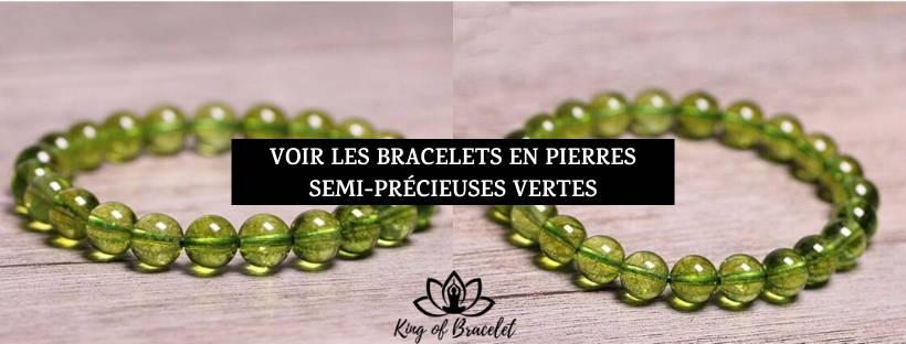 Bracelets Pierres Vertes - King of Bracelet