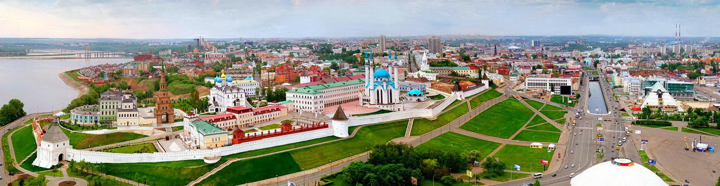 Обзорная экскурсия на автобусе по Казани с посещением Казанского Кремля