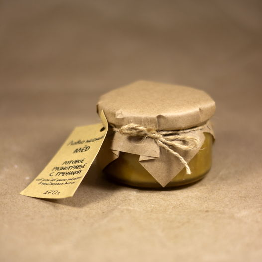 Алтайский разнотравный мёд с гречихой (170 г)