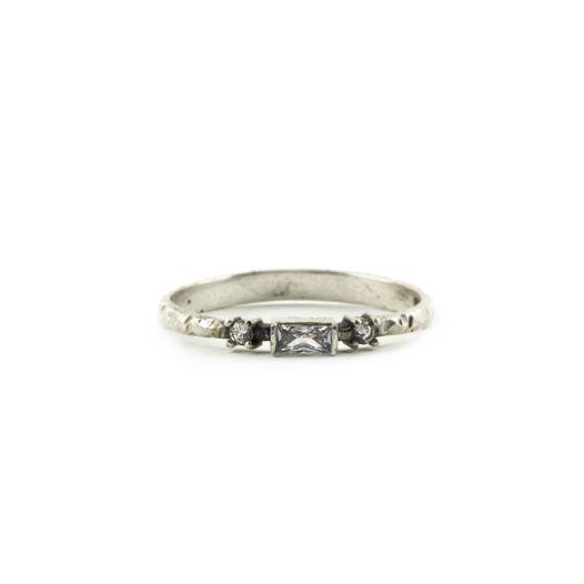 Серебряное кольцо Era с горным хрусталем