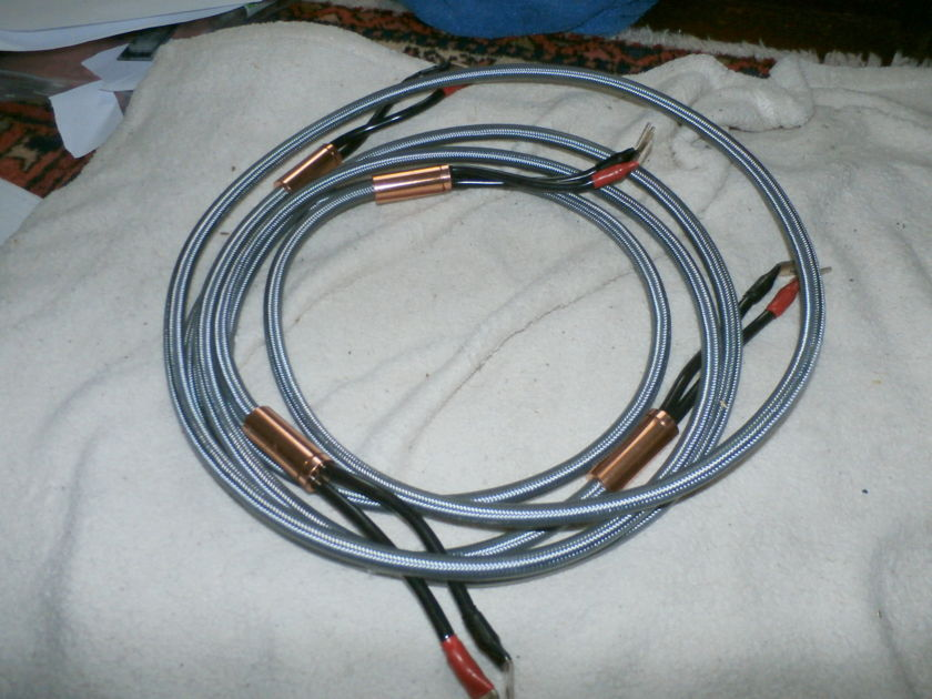 Argento organic speaker cables 8'/spades