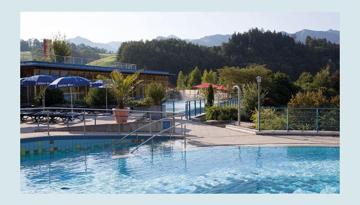 bg wonnemar sonthofen pool landschaft außen natur