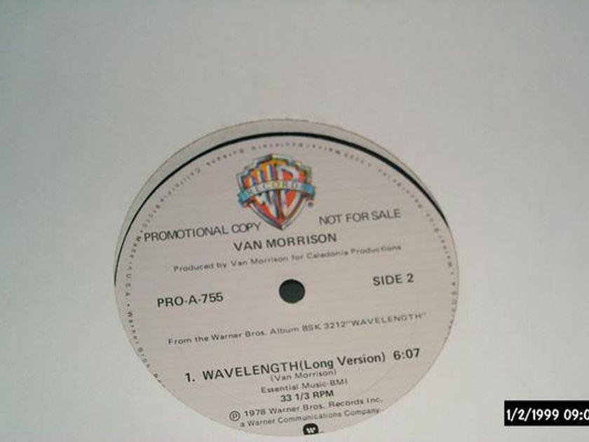 Van Morrison - Wavelength promo 12 inch long/short