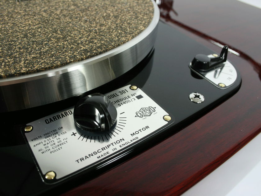 Garrard  301 Statement King of Idler Drives
