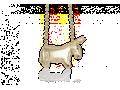 Mignon Faget Donkey Pendant