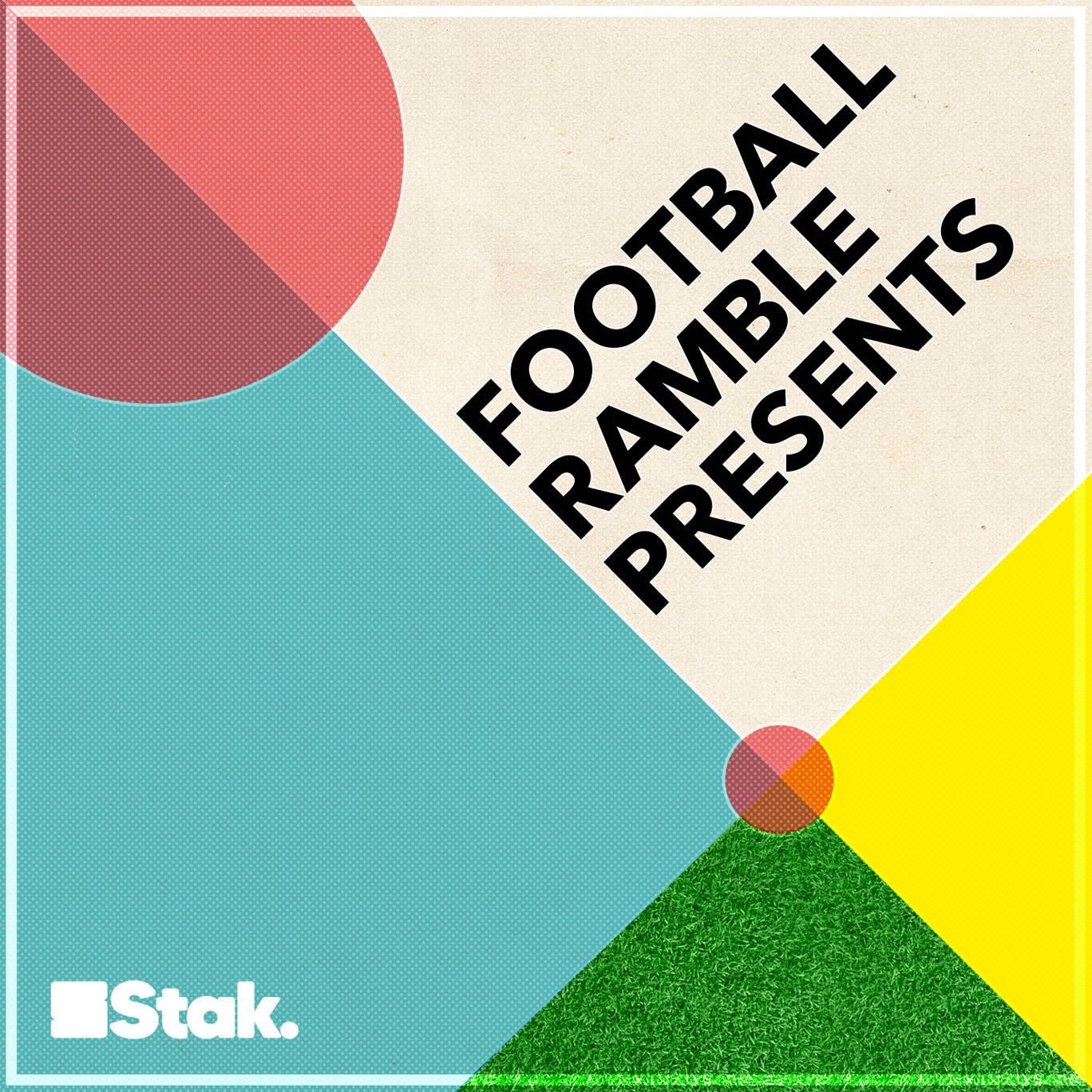 The artwork for the Football Ramble Presents podcast.