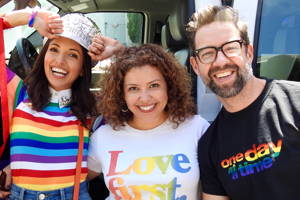 """The Cast of """"One Day At A Time"""" Joins AmBi at LA Pride"""