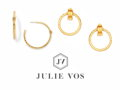 Earrings from the Julie Vos Savannah Collection