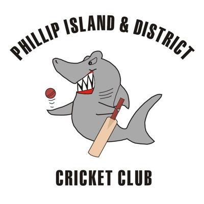 Phillip Island District Cricket Club Logo
