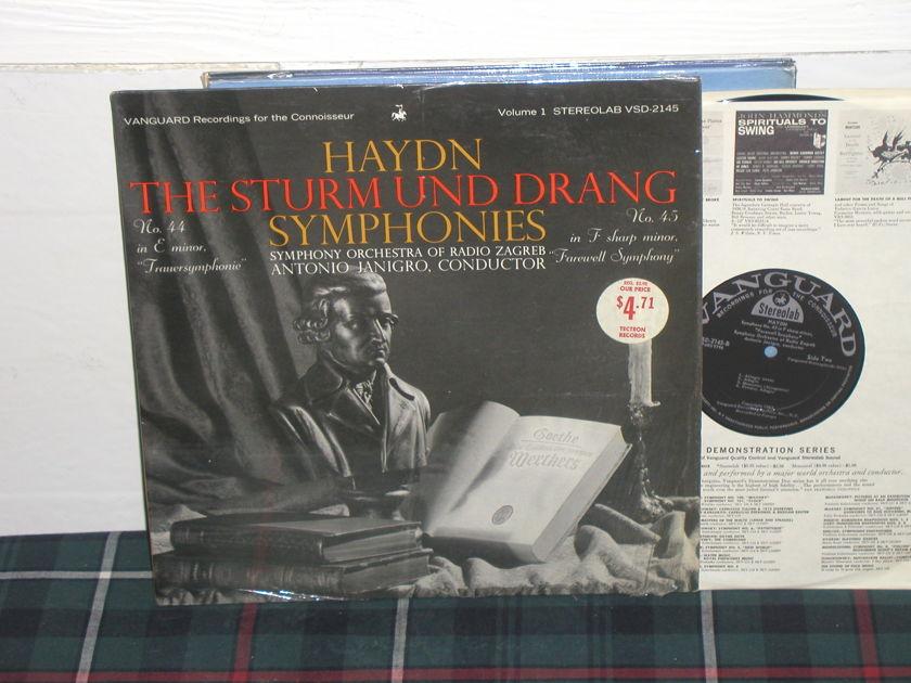 Janigro/Solisti - Haydn 44/45 vanguard stereolab vsd-2145