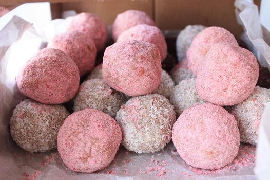 Бисквитные трюфели, 10 конфет в наборе, много клевых вкусов