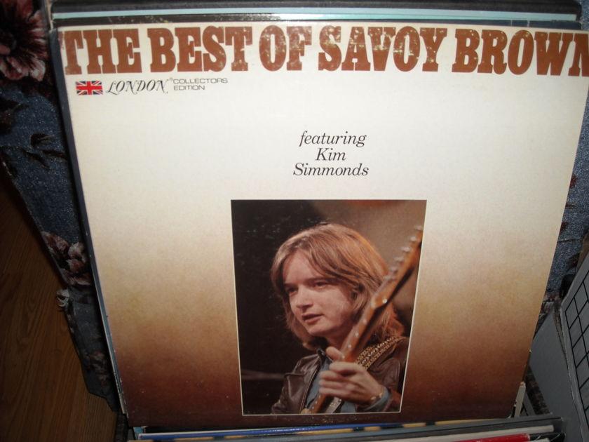 Savoy Brown -  The Best Of W/Kim Simmonds  London LP (c)