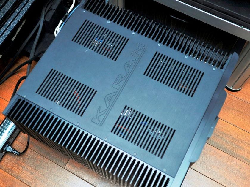Karan Acoustics KAM1200 mono blocks pair of power amplifiers