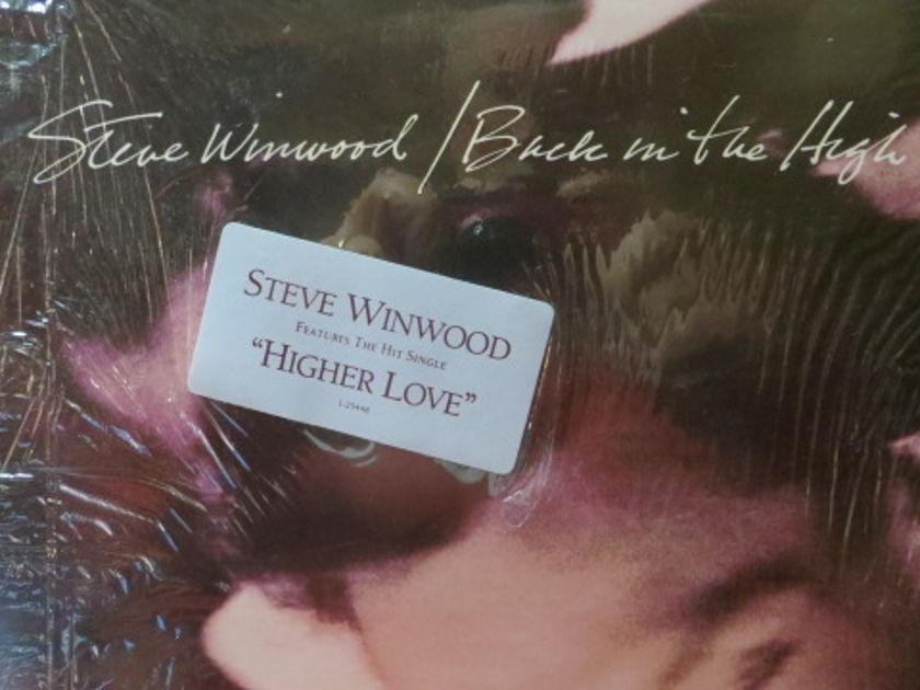 STEVE WINWOOD - BACK IN THE HIGH LIFE SHRINK STILL ON COVER