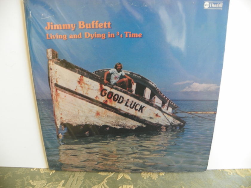 JIMMY BUFFETT - LIVING AND DYING IN 3/4 TIME 1ST EDITION