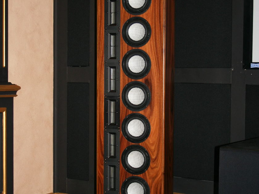 Selah Audio Line Arrays Great Price! AccuArrays: Accuton + Fountek : Center Channel Too!
