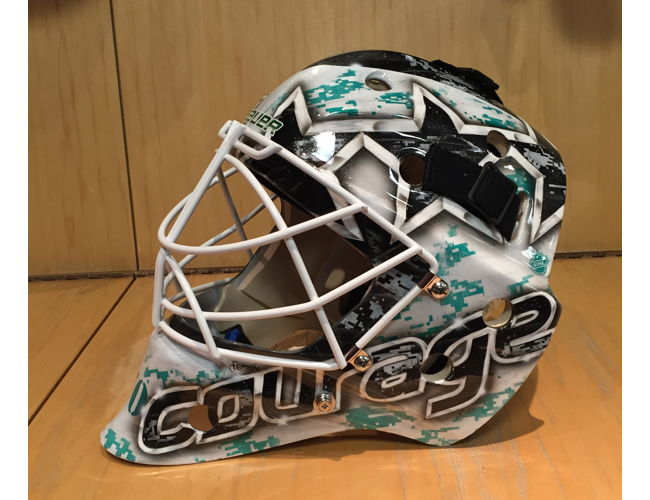 Braden Holtby Autographed Camouflage Goalie Mask Capitals Military Night Auction Mobile Silent Auction Find An Event Near You Handbid