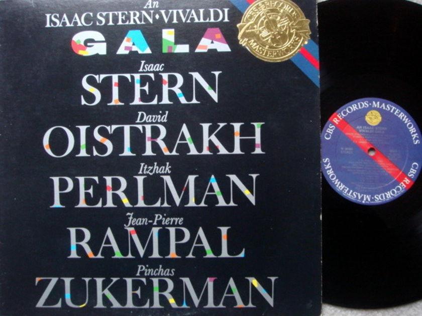 CBS / OISTRAKH-STERN-PERLMAN-RAMPAL, - Vivaldi Gala, MINT!