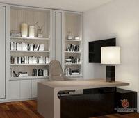 loft-plus-seven-studio-classic-modern-malaysia-selangor-study-room-3d-drawing