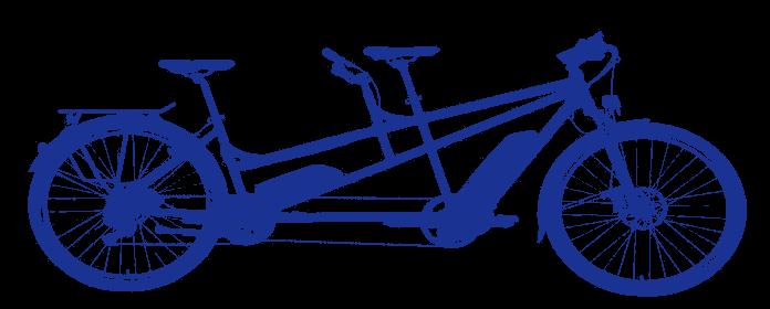 Tandem bike symbol
