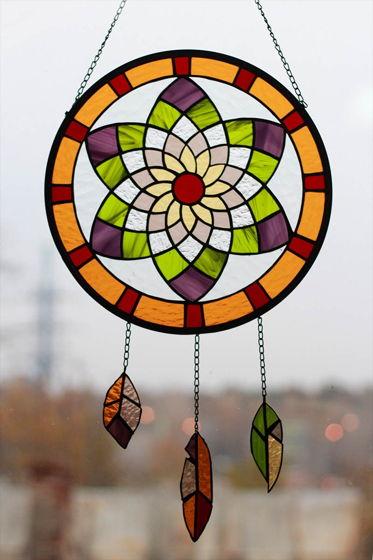 Витраж подвесной «Suncatcher»